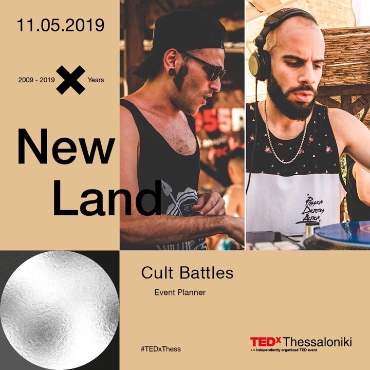 Cult Battles 2019 TEDX Thessaloniki event
