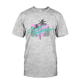 Poolside T-Shirt Cult Battles Merchandise